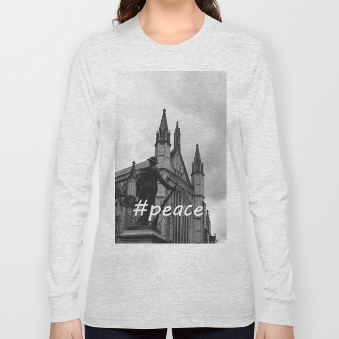 Soldier and cathedral Long Sleeve T-shirt