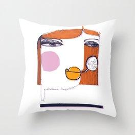 Nuda_1 Throw Pillow