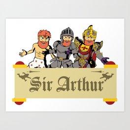 Sir Arthur Art Print