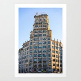 Edificio Generali Art Print
