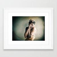 steam punk Framed Art Prints featuring Steam Punk by Angela K. Rough