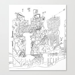 City Of Thieves Canvas Print