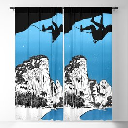 Rock climbing Thailand Blackout Curtain
