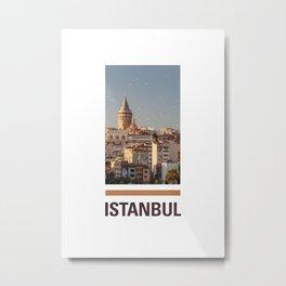I-stanbul Metal Print