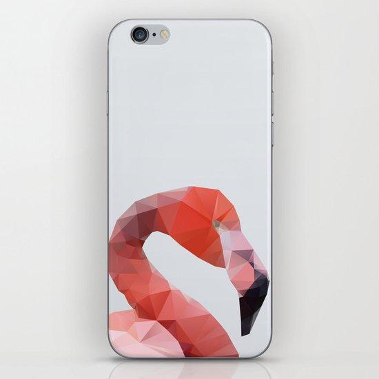 Geometrical - Flamingo iPhone & iPod Skin