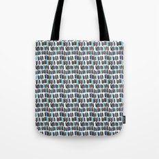Little lines Tote Bag