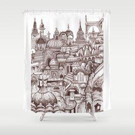 Jaipur, India Shower Curtain