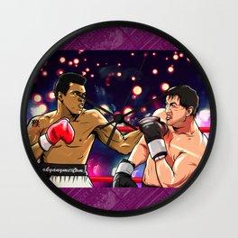Rocky vs Ali Wall Clock