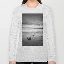 """Serenity sea..."". Tarifa beach Long Sleeve T-shirt"