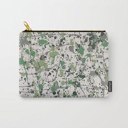 Galaxies of Green Carry-All Pouch