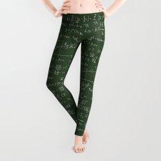 Geek math pattern Leggings