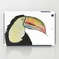 toucan iPad Cases featuring Toucan by Adele Manuti