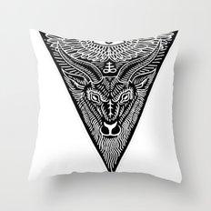 t-shirt design Throw Pillow