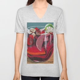 Fruit cocktail Unisex V-Neck