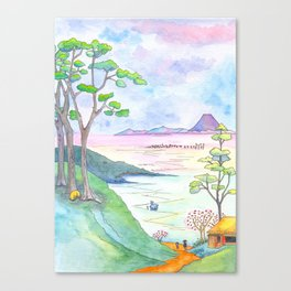 A Japanese Sight Canvas Print