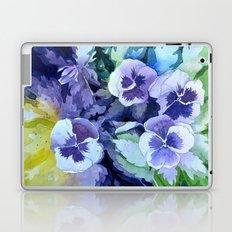 Pansies Crush  Laptop & iPad Skin