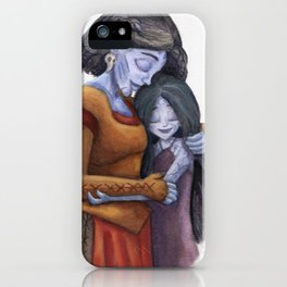 Angrboda and Hela iPhone Case