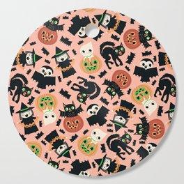 Halloween Gang Pink Cutting Board