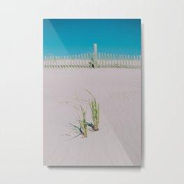 Sand Dune Grass Metal Print