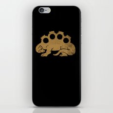 Brassknuckleosaurus iPhone & iPod Skin