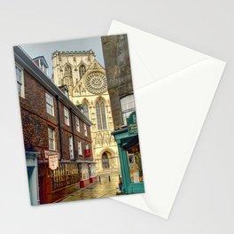 York Minster from Minster Gates Stationery Cards