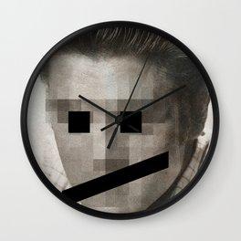 The Pelvis Emoticon Wall Clock
