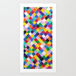 You.Me.Us Dos Background Art Print