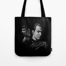 Kirk & Spock Tote Bag