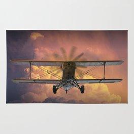 Loud Planes Fly Low Rug