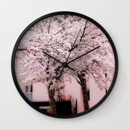 Candy Floss Explosion Wall Clock