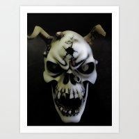 bones Art Prints featuring Bones by Shalisa Photography