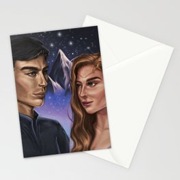 High Lord and Lady of the Night Stationery Cards