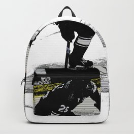 On the Move - Hockey Player Backpack