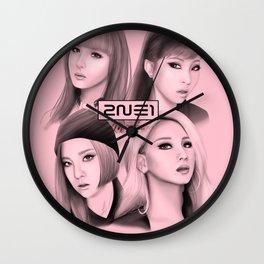 2ne1 Fanart Wall Clock