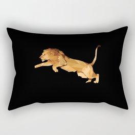 LOW POLY LION Rectangular Pillow