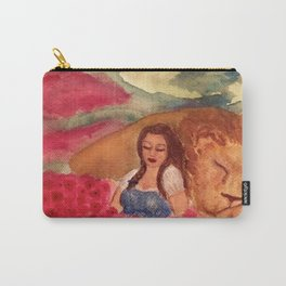 Poppies and Sleep Carry-All Pouch