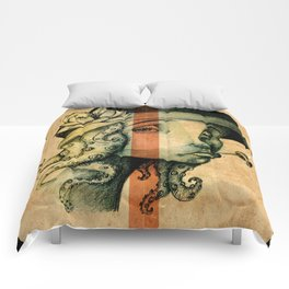 Lady Tentacles Comforters