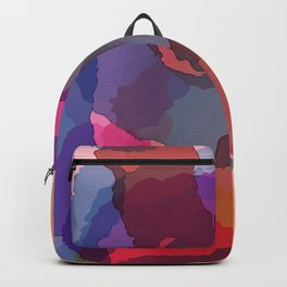 Watercolor Abstract Art / GFTAbstract036 Backpack
