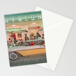 Avalon Hotel, South Beach, Florida Stationery Cards
