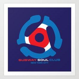 Subway Soul Adapter Art Print