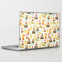 dessert Laptop & iPad Skins featuring Dessert by Valendji