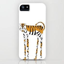 Long legs Tiger iPhone Case