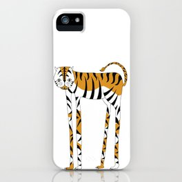 Long legs Tiger iPhone Case