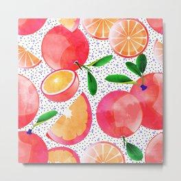 Citrus Love #digitalart #citrus Metal Print