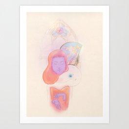 Violet Minded Art Print