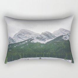 Sun Over The Trees Rectangular Pillow