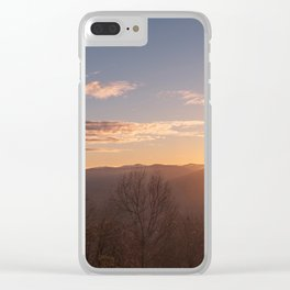 North Georgia Mountains 6 Clear iPhone Case