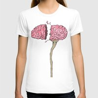 brain T-shirts featuring BRAIN by Sha Abdullah
