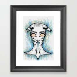Human After All Framed Art Print