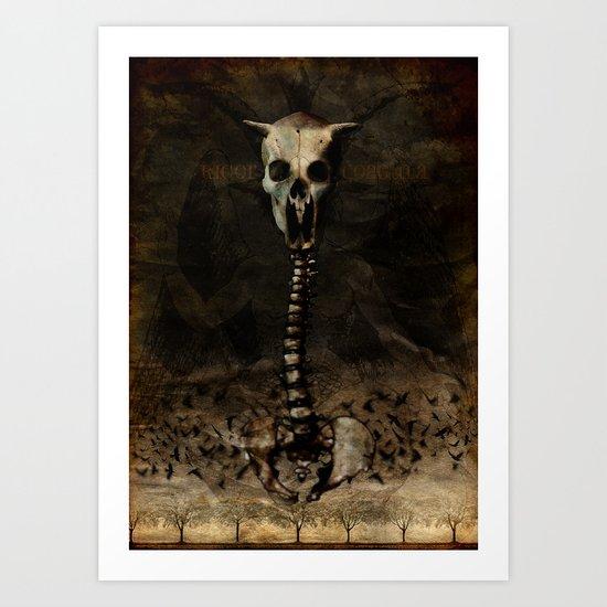 Rigor Coagula Art Print